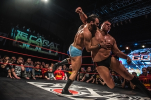 Die internationale Wrestlingelite in Leipzig
