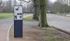 Info-Tafel zur Entstehungsgeschichte des Clara-Zetkin-Parks